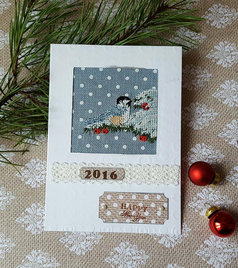 33. Olechka для Natashka. 2015 Зимние открытки