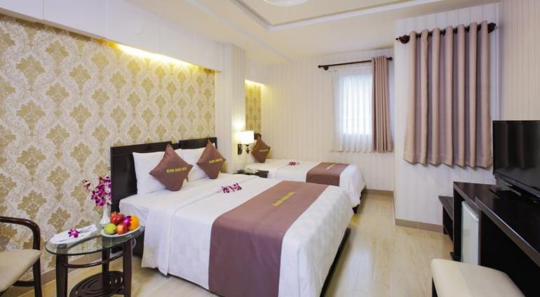 Bloom Saigon Hotel.