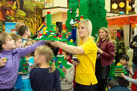 Фестиваль Волшебных Елок LEGO