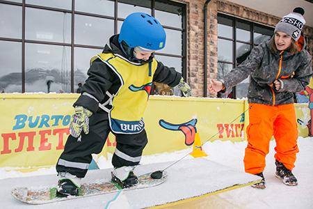 Детский сноуборд
