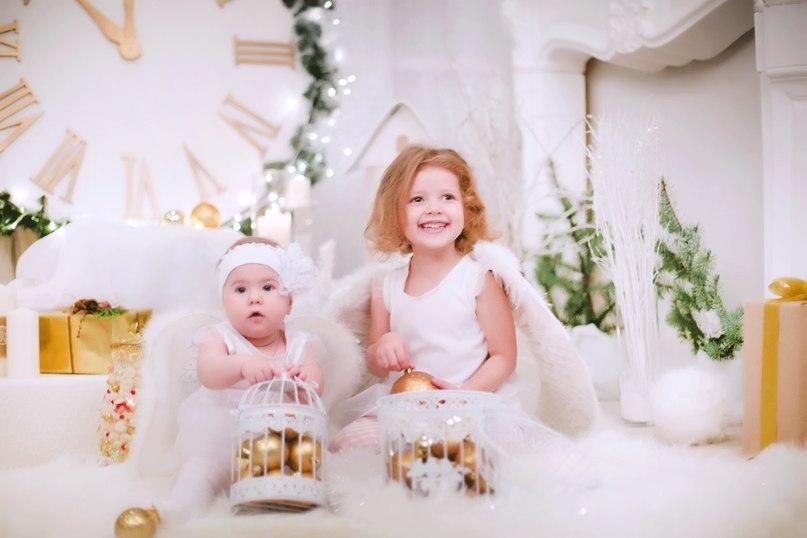 Ангелочки. Новый год к нам мчится!
