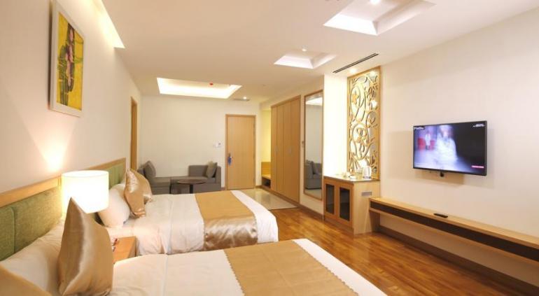 Bavico International Hotel.