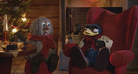 Снежные приключения Солана и Людвига