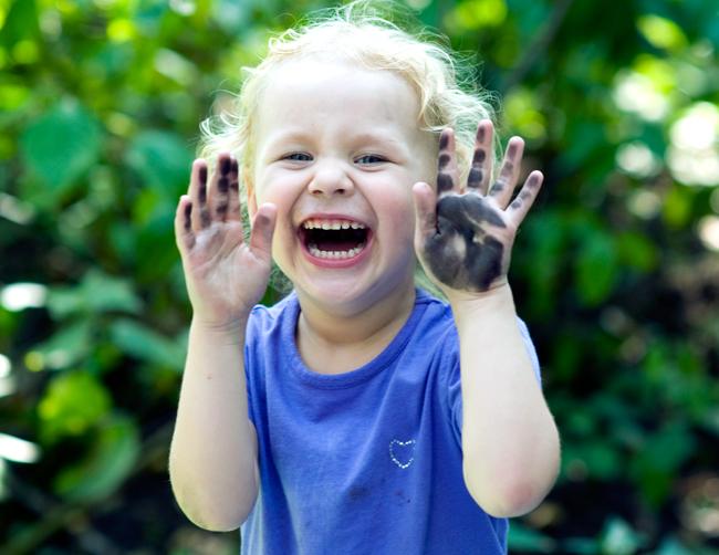 Чумазое счастье!. Счастливое детство