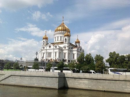 экскурсия по Москва-реке