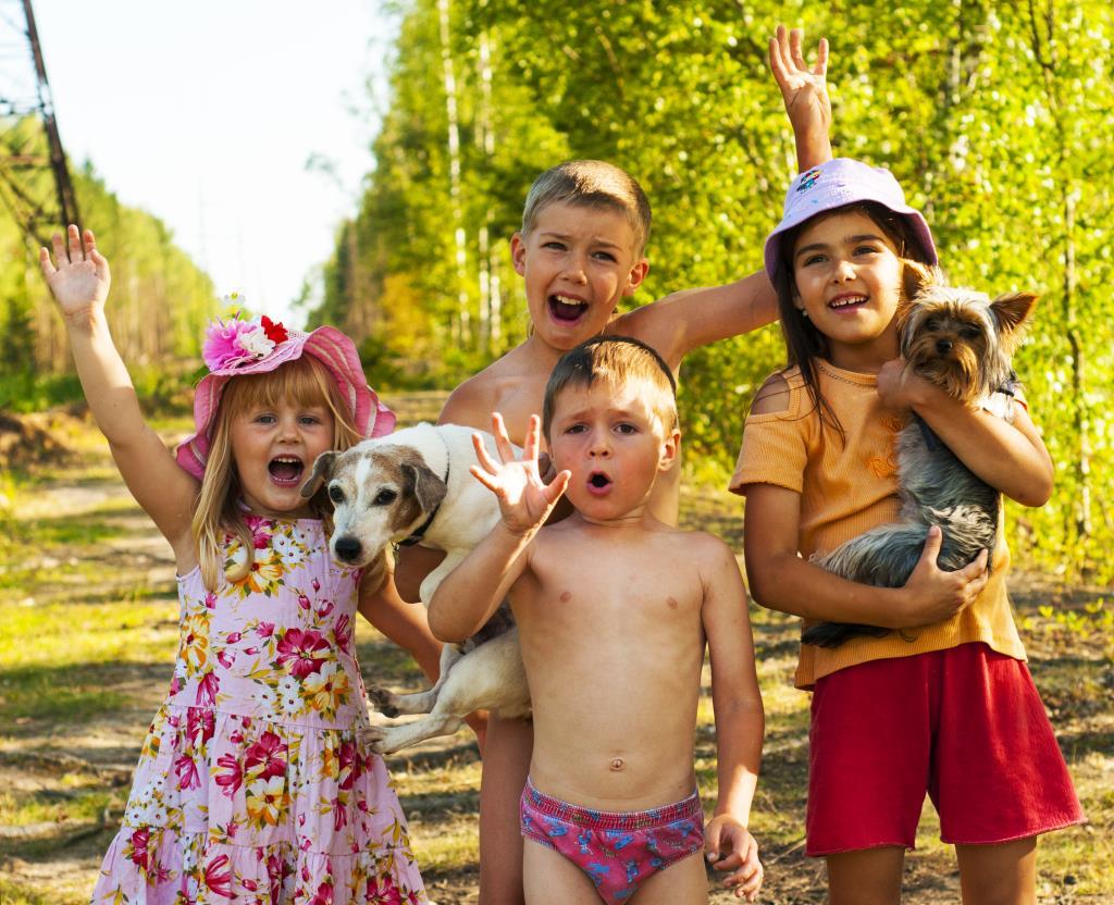 Ребята и зверята - неразлучные друзья!.