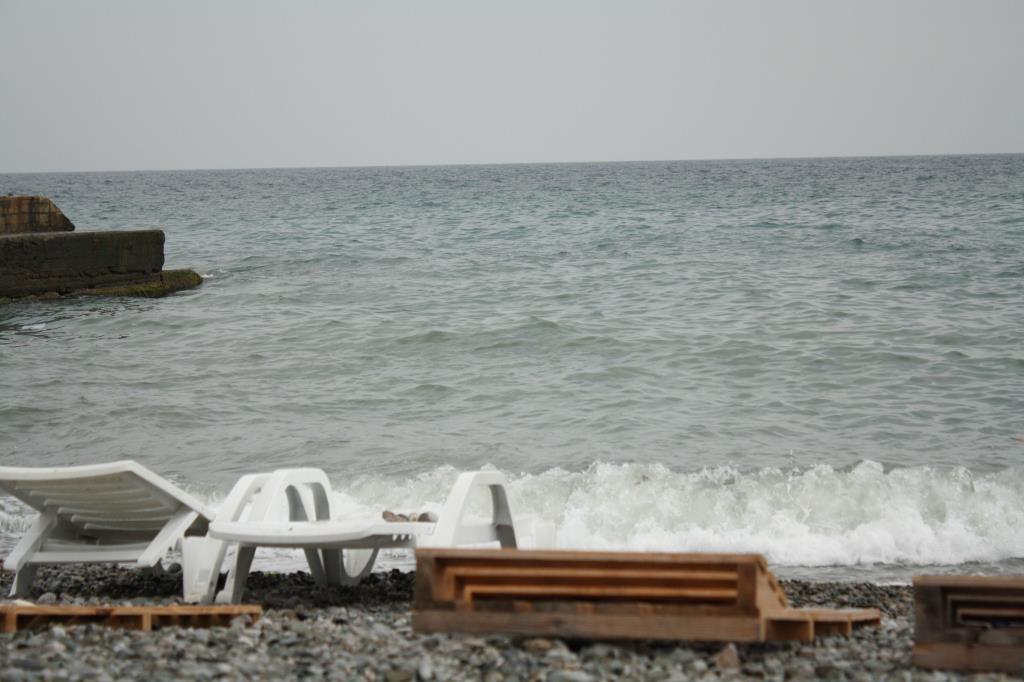 Море в Ялте. Блиц: вода