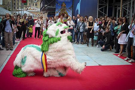 Танец Снежного Льва