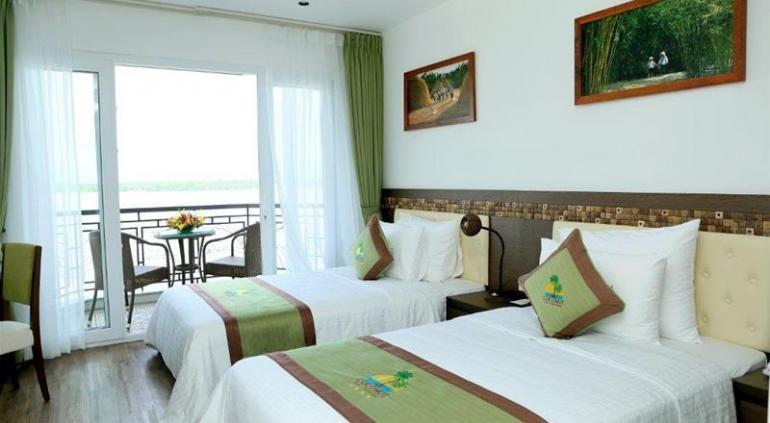 Ben Tre Riverside Resort.