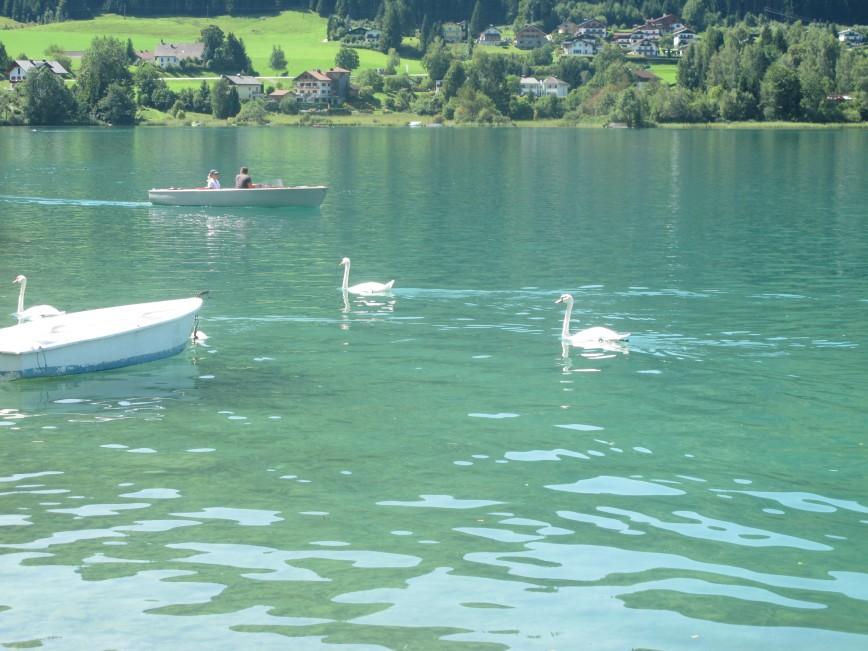 Австрия. Моря и другие водоемы