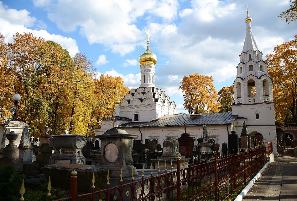 Золотая осень в Донском монастыре . Блиц: осенний пейзаж