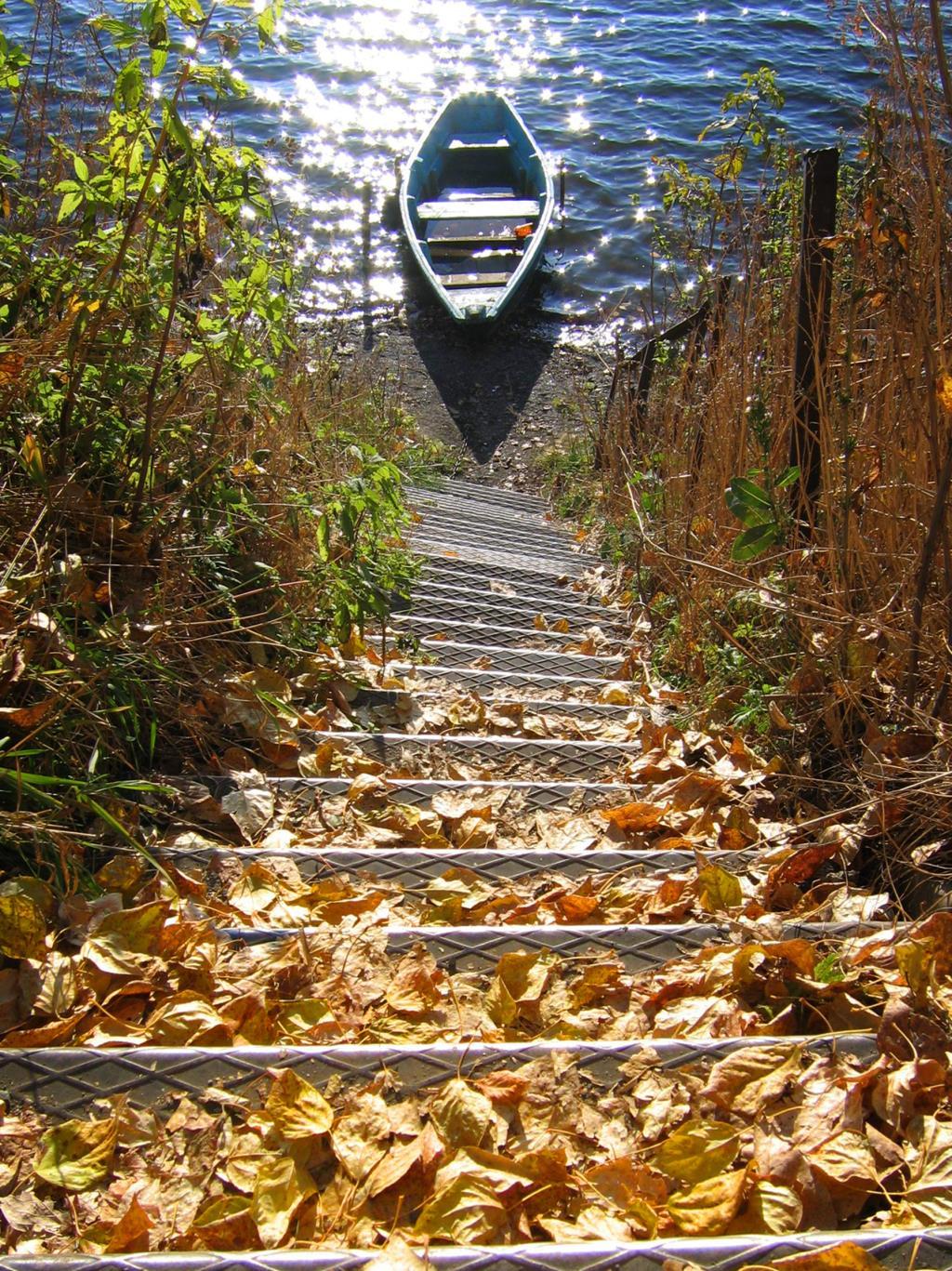 лестница осени. Блиц: осенний пейзаж