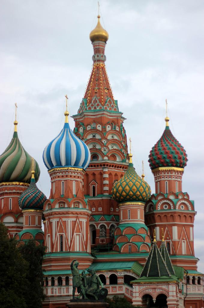 Храм Василия Блаженного. Блиц: Москва