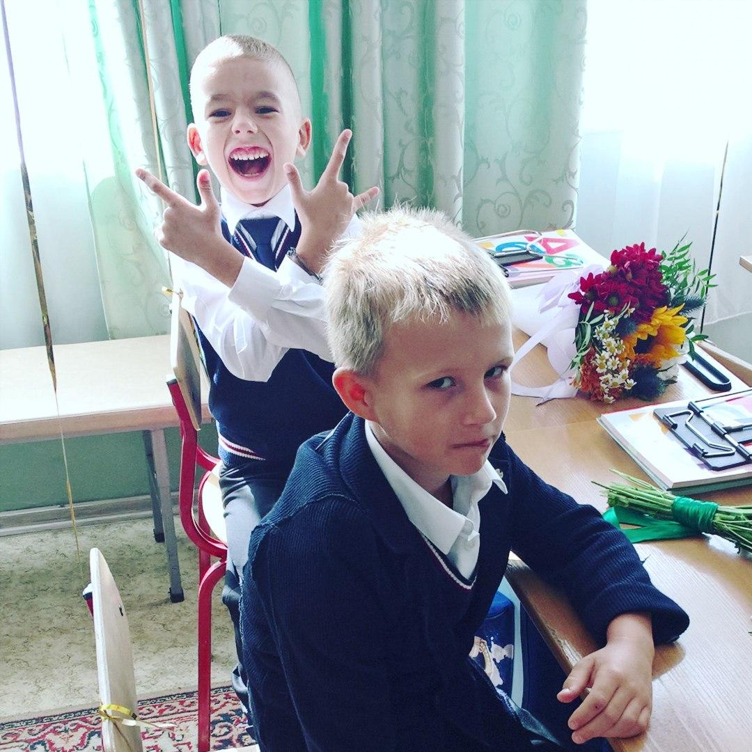 В школе скучно нам не будет!. За новыми знаниями с 'Фруктовым садом'!
