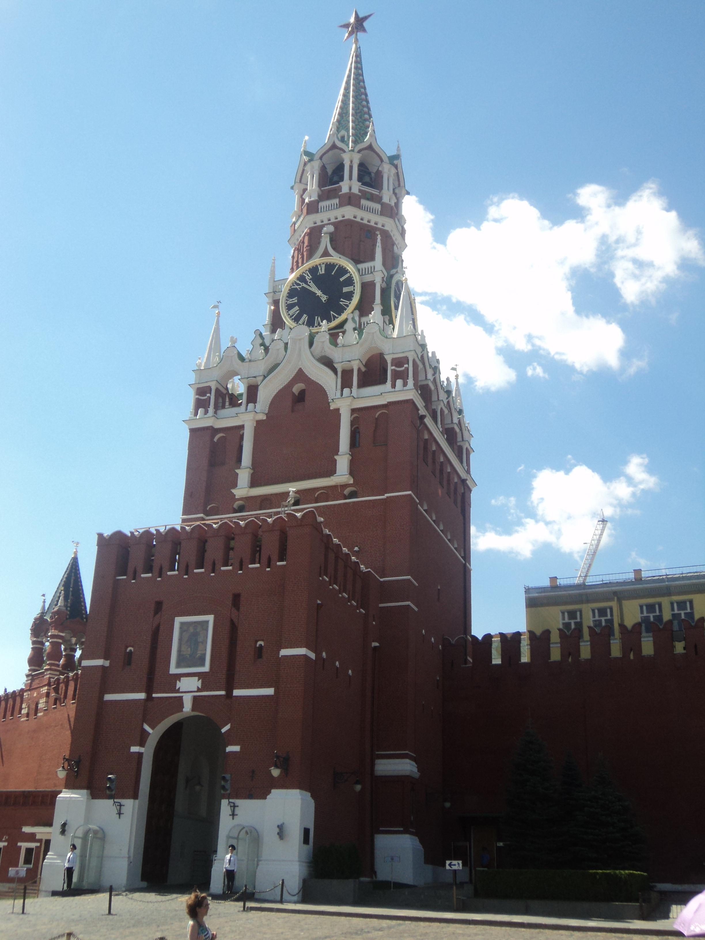 Кремль - сердце столицы. Блиц: Москва