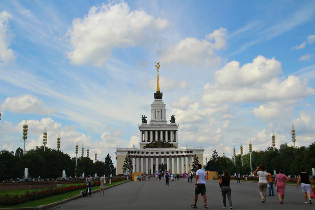 В Москве-Лето!!!ВДНХ!. Блиц: Москва