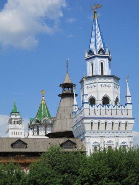 Башни Измайловского Кремля. Блиц: Москва