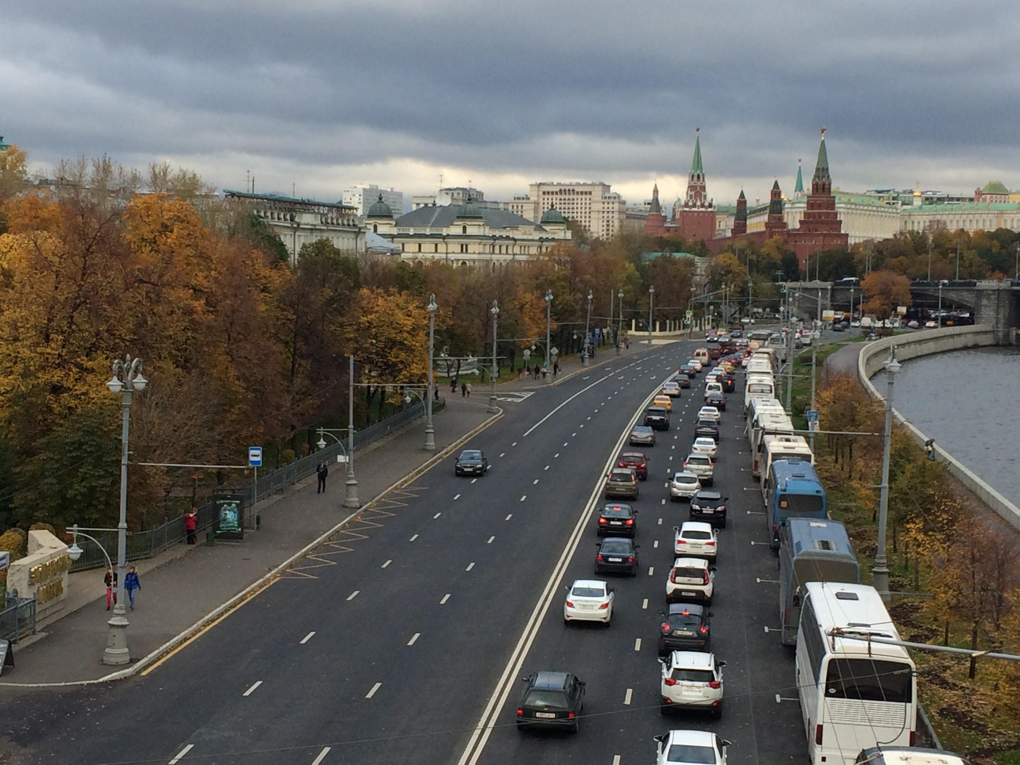 Москва. Осень пришла..... Блиц: Москва