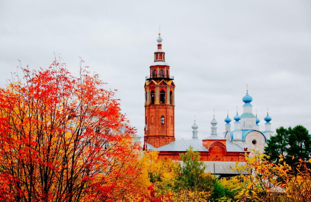 Осенняя Чердынь. Блиц: осенний пейзаж