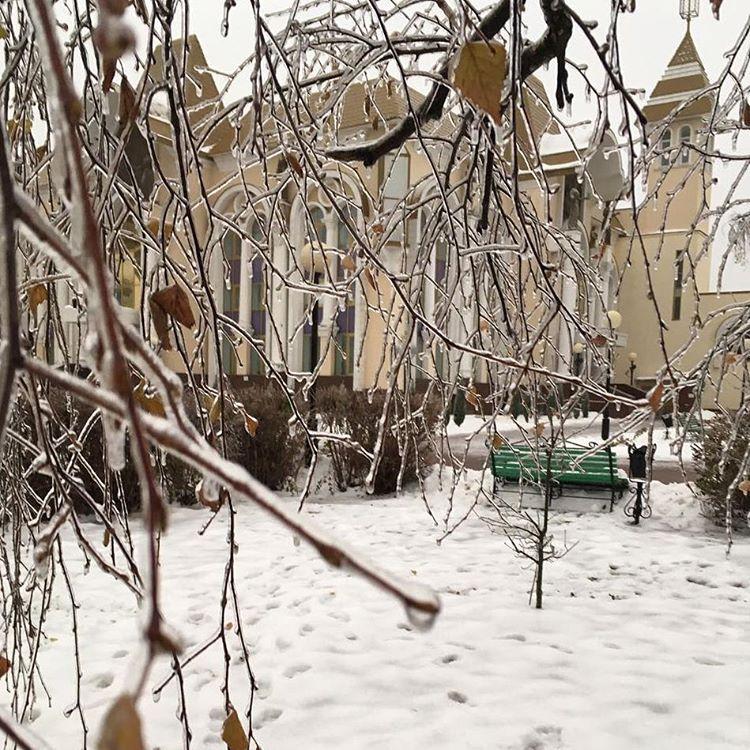 хрустальная зима. Блиц 'Первый снег'