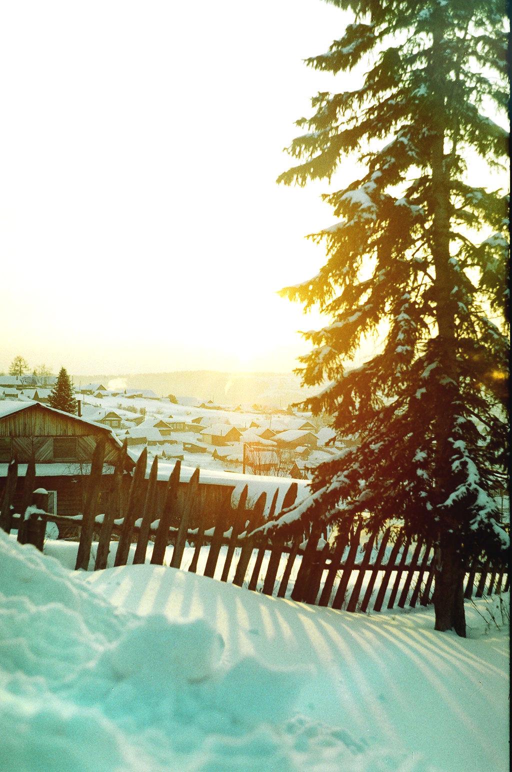 мороз и солнце..... Блиц 'Первый снег'