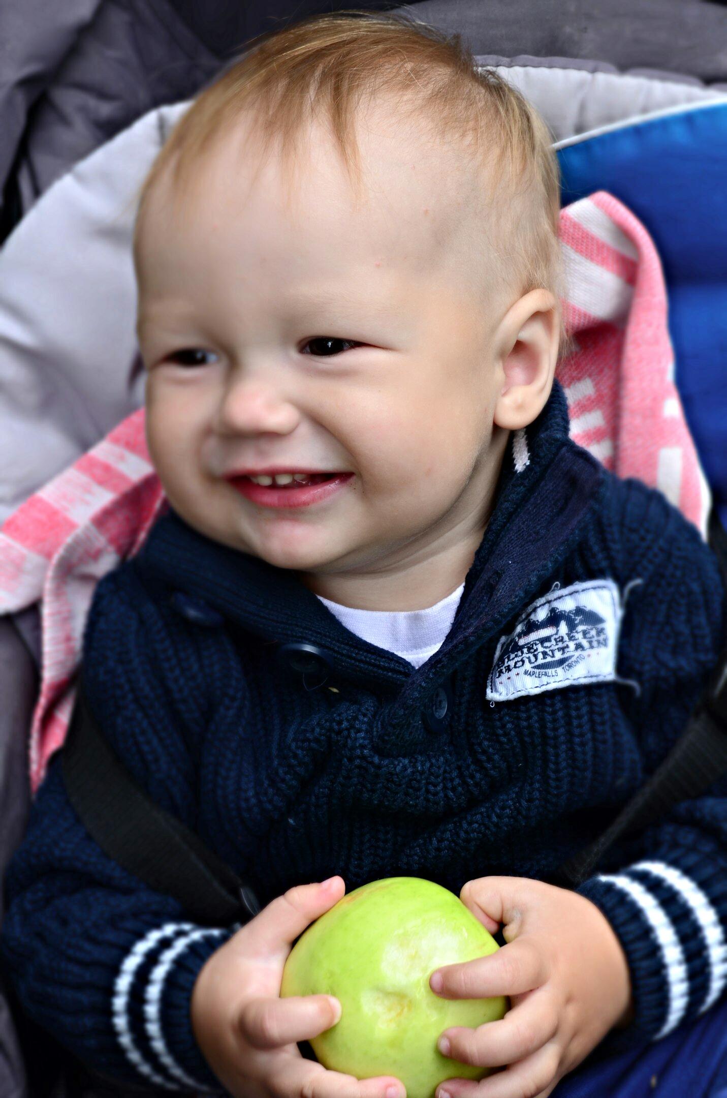 Любимые яблочки. 'Дантинорм Бэби' – каждый зубик в радость!