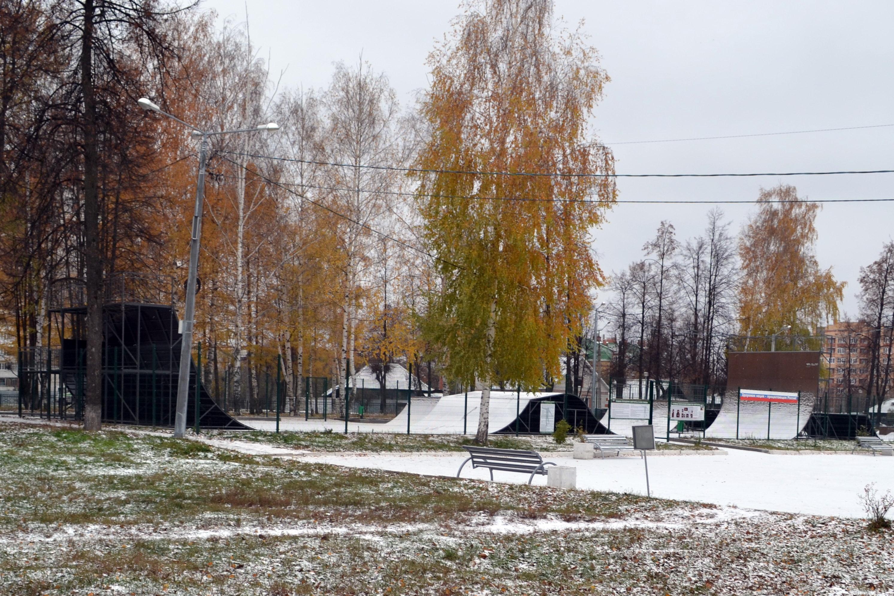 Зима пришла нежданно. Блиц 'Первый снег'