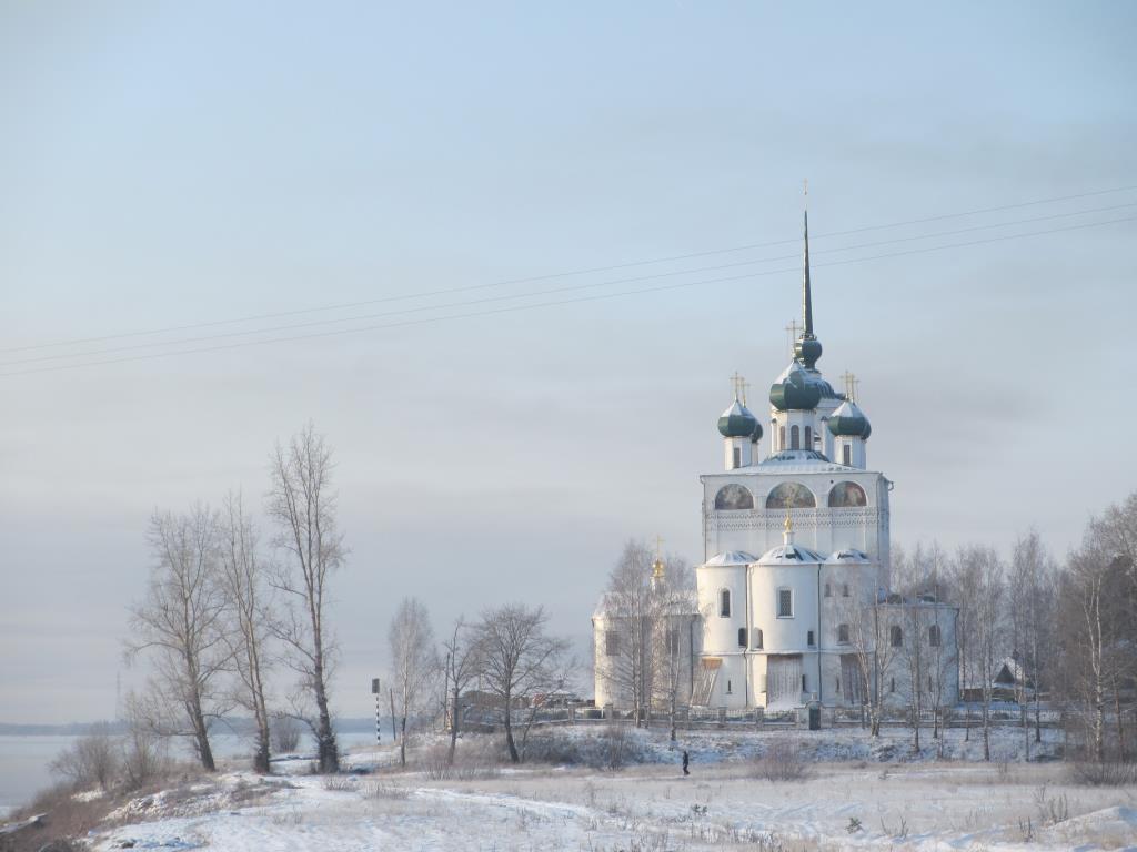 Зима пришла в Сольвычегодск. Блиц 'Первый снег'