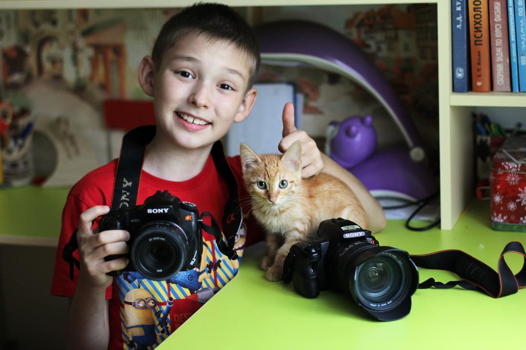 Фотографы )). Зверье моё