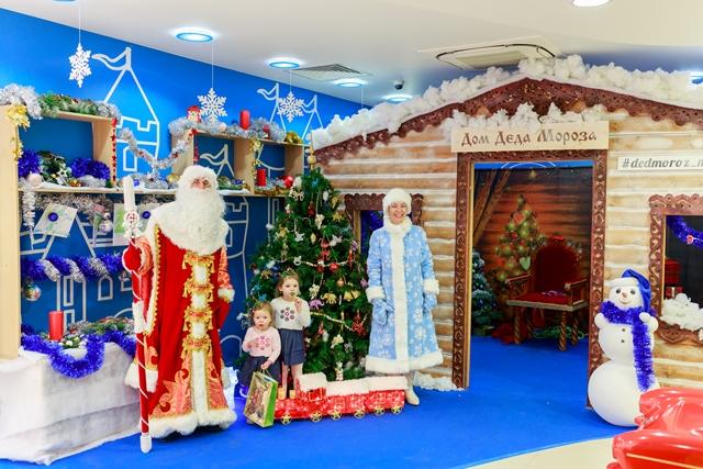 ом Деда Мороза в магазинах Mothercare