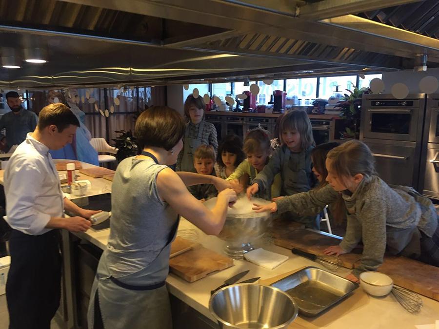 Кулинарный матер-класс кулинарной школе Chefshows by Novikov