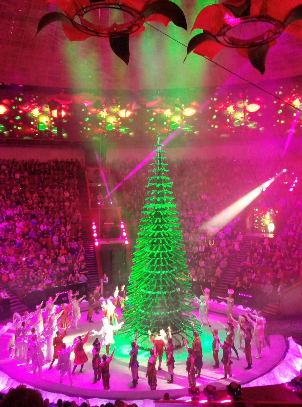 Большой Московский цирк. Блиц: новогодняя елочка