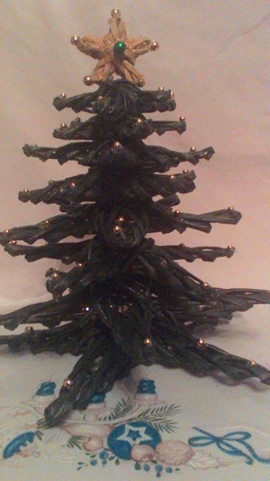 Дерево из моих рук. Блиц: новогодняя елочка