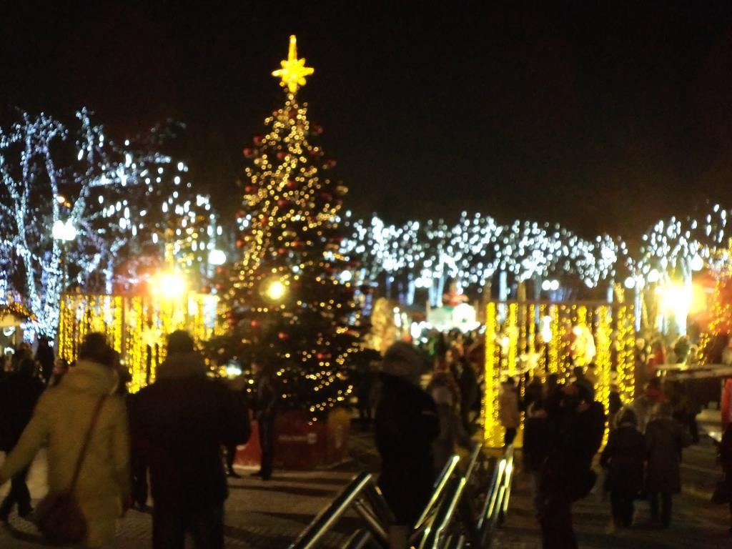 Московская новогодняя елка.. Блиц: новогодняя елочка