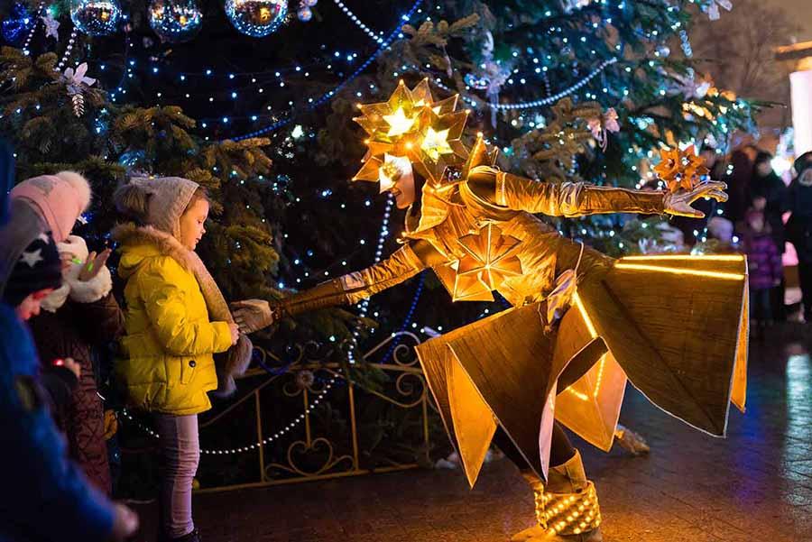 Детская программа фестиваля Путешествие в Рождество