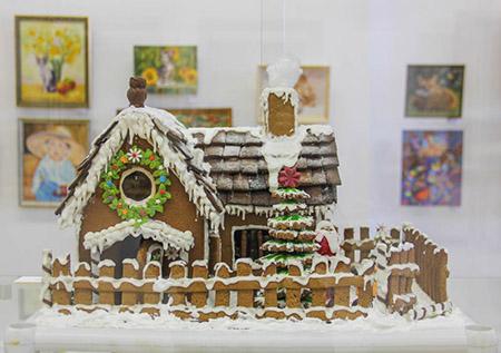 Выставка изделий многодетных москвичей