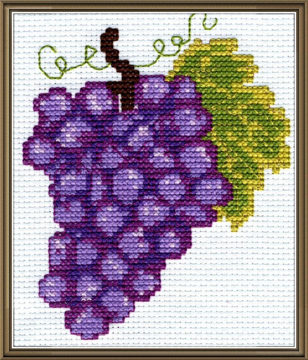 Гроздь винограда. Фрукты-овощи
