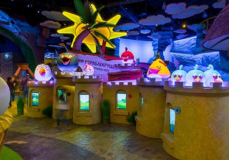 Парку активного отдыха Angry Birds Activity Park