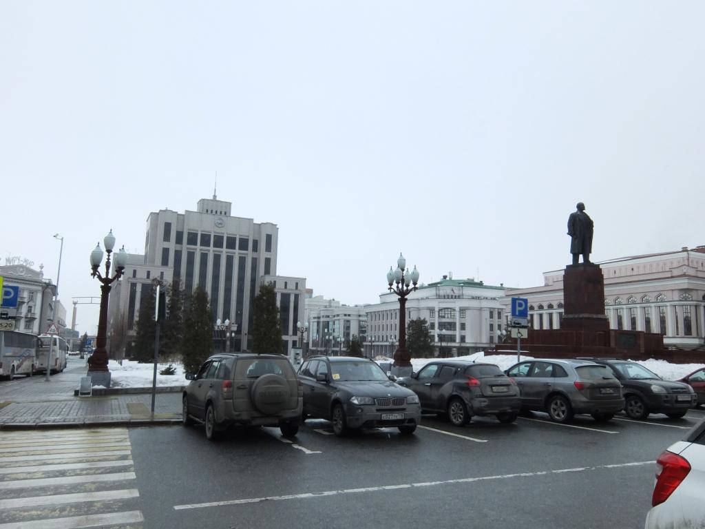 Площадь свободы. Казань
