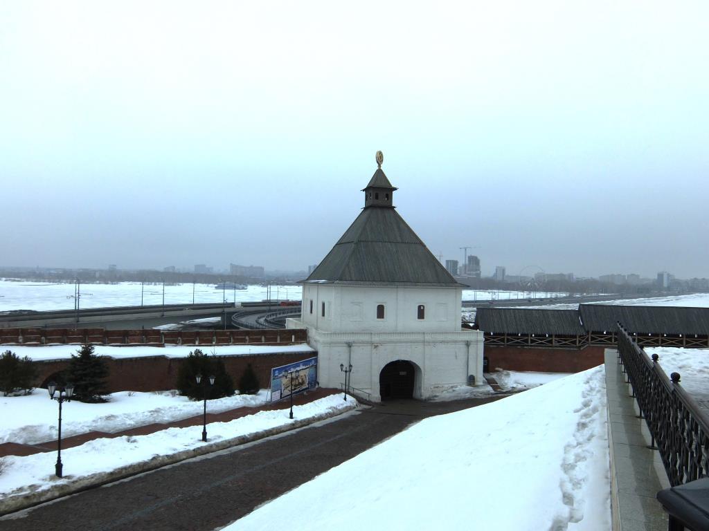 Кремль. Тайницкая башня. Казань