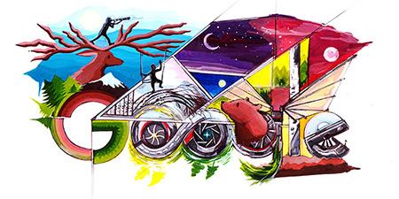 Дудл для Google 2016