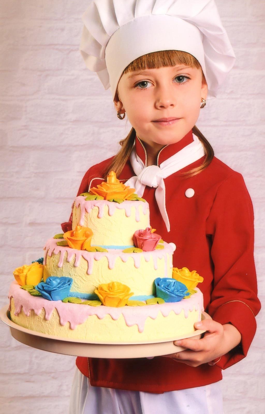 Маленький пекарь. Маленькие поварята