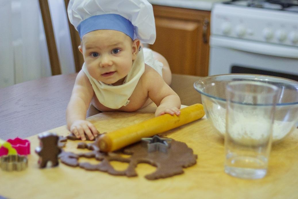 Мы любим кулинарить, с моими помощниками это легко. Дела житейские