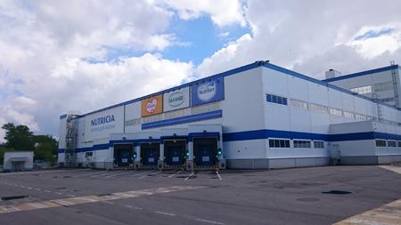 Завод Nutricia в Истре