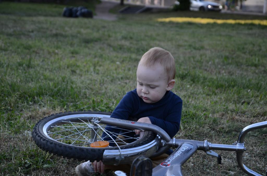 Ремонт велосипеда. Дела житейские