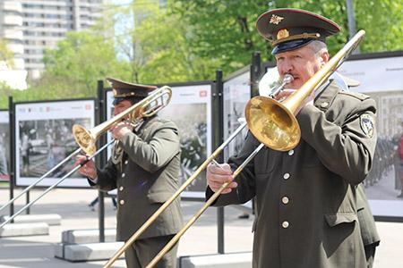 День Победы в парке Красная Пресня