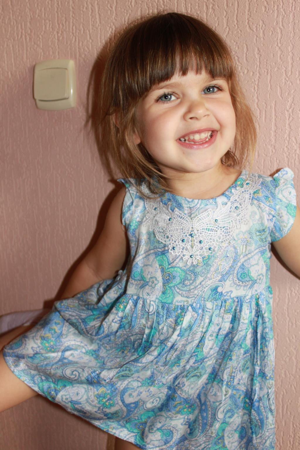 Девочка -улыбка. С улыбкой по жизни