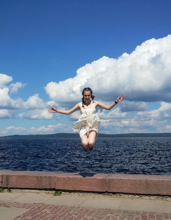 Июньским днем в Петрозаводске. Летнее очарование
