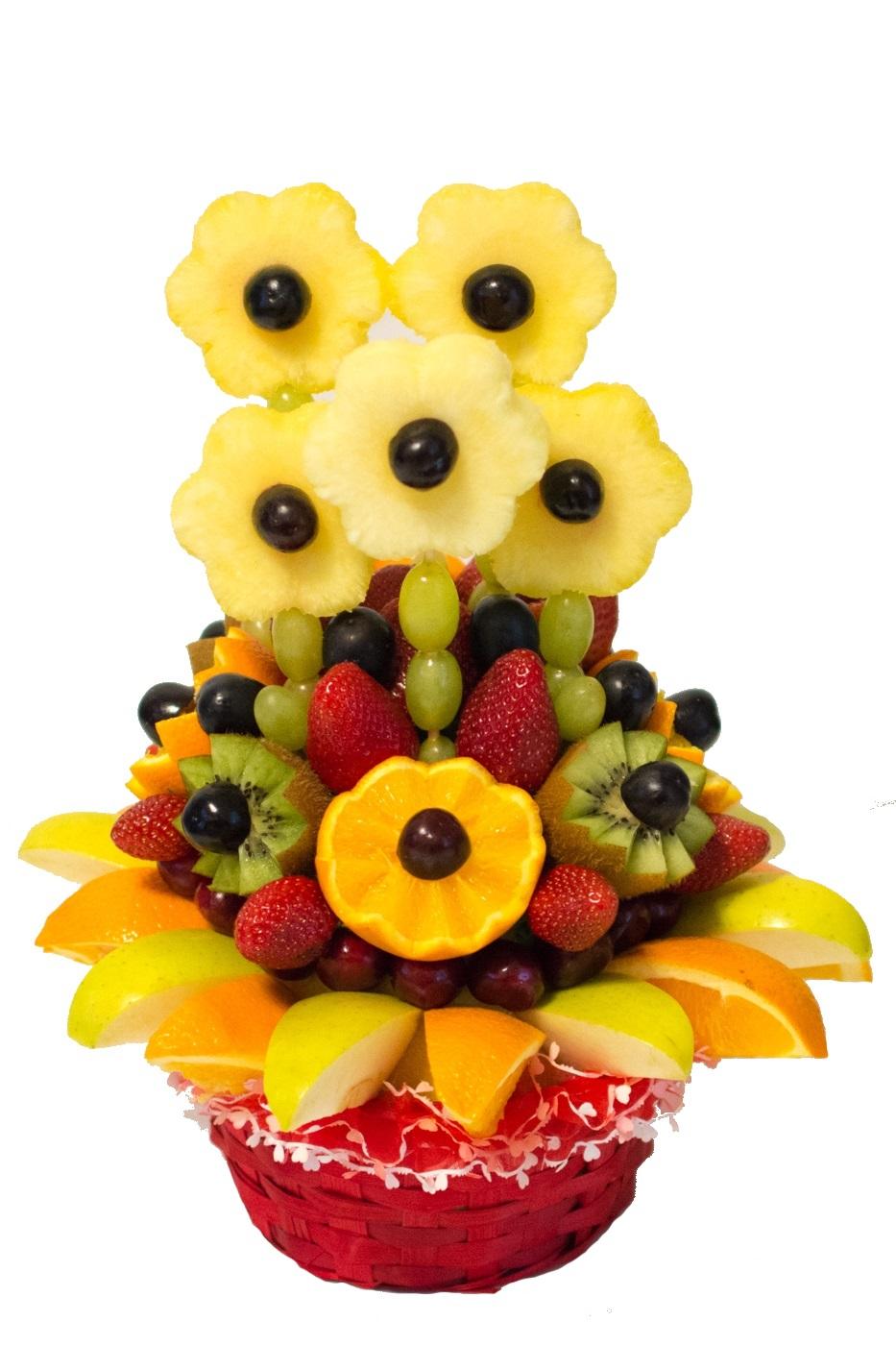 Букет из фруктов картинки
