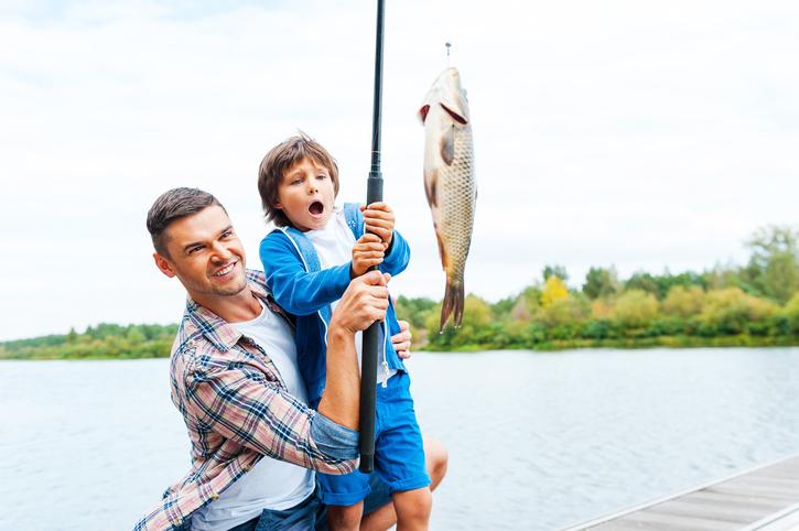 День Рыбака в Крылатском